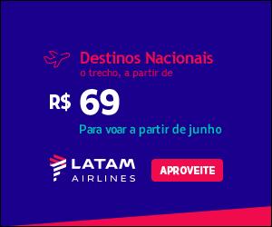 LATAM - Destinos Nacionais - Finance One