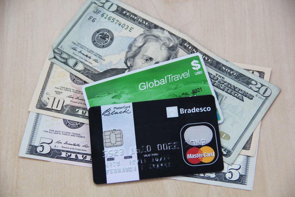 cartao compra dolar