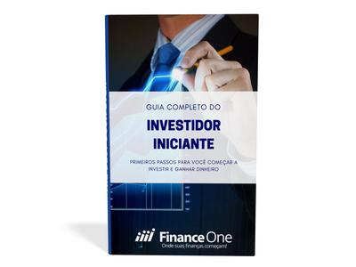 capa do ebook guia do investidor iniciante