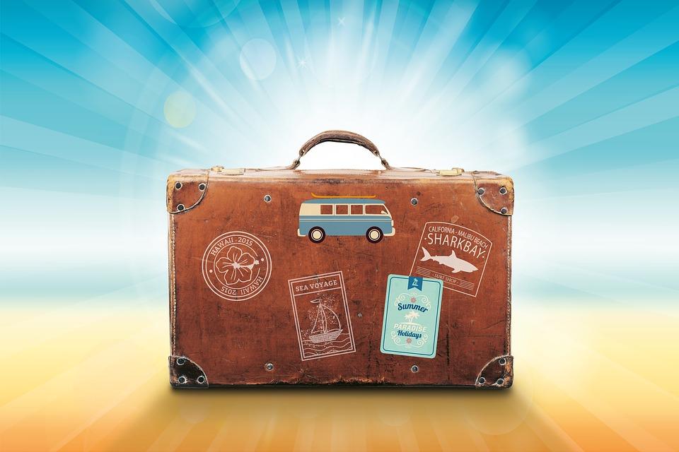 Controle a sua bagagem.