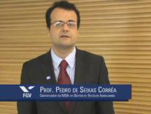professor Pedro Seixas Corrêa Coordenador FGV