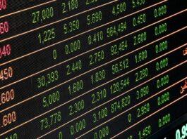índices da bolsa de valores