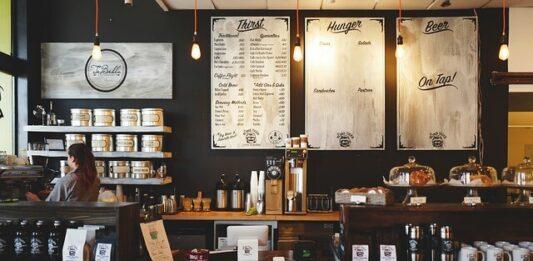 imagem de uma franquia de café