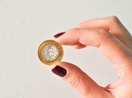 imagem de uma moeda real