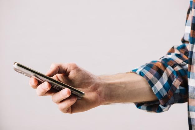 FGTS pelo celular