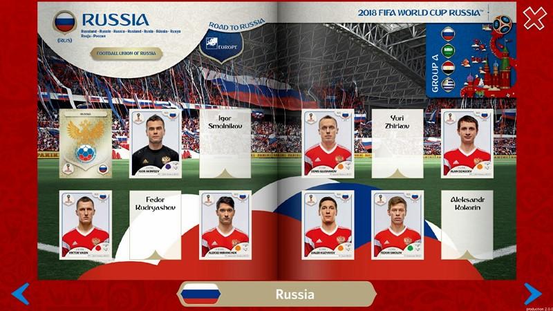 Figurinhas da Copa do Mundo