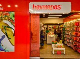 fachada de uma loja franquia das havaianas