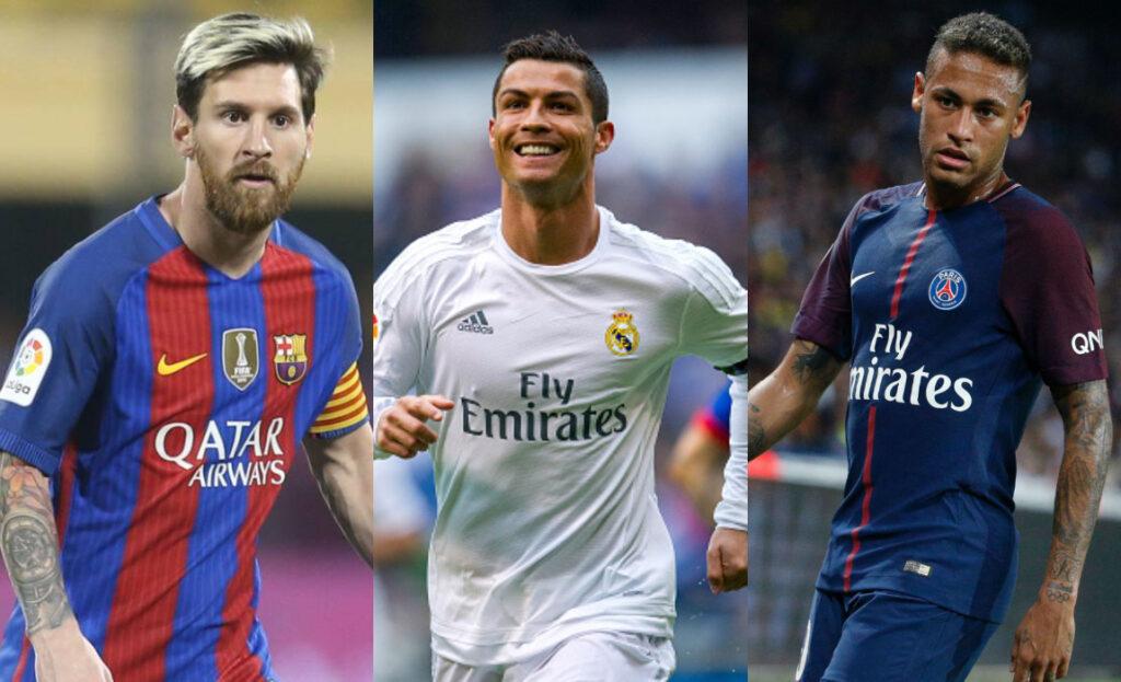 jogadores mais bem pagos do mundo