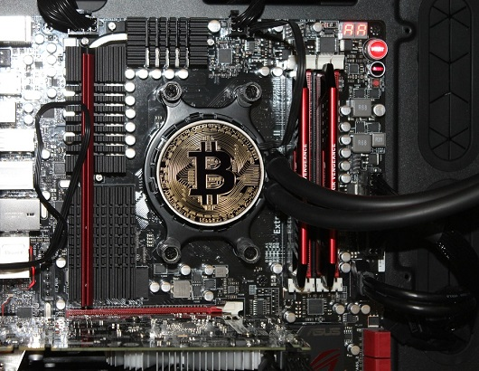 Mineração de criptomoedas