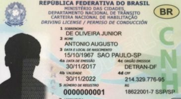 carteira de motorista