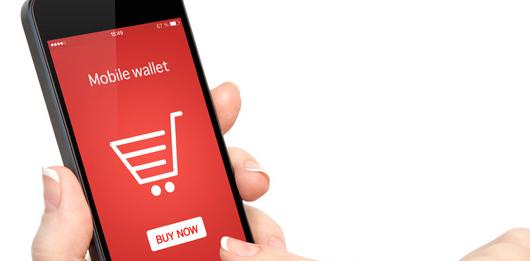 tela de aplicativo com fundo vermelho no celular