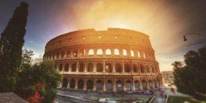 Coliseu - Fórum Romano