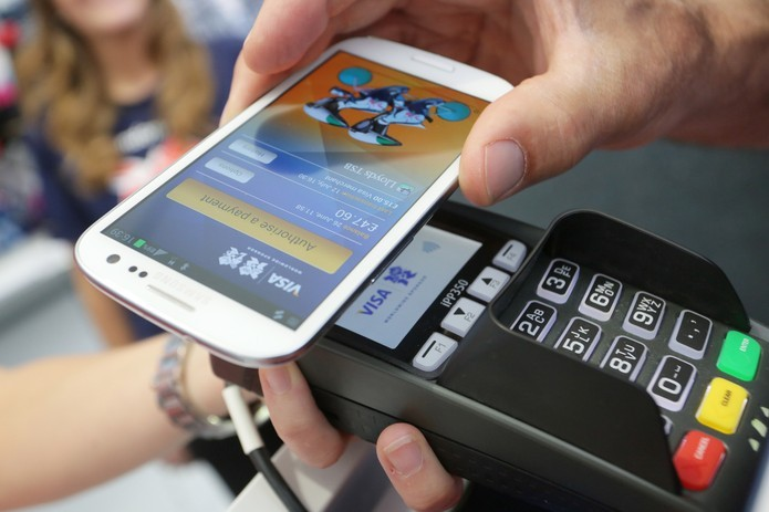 máquina-de-cartão-de-crédito no celular