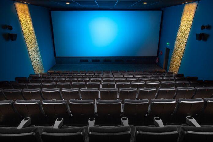 imagem de uma sala de cinema