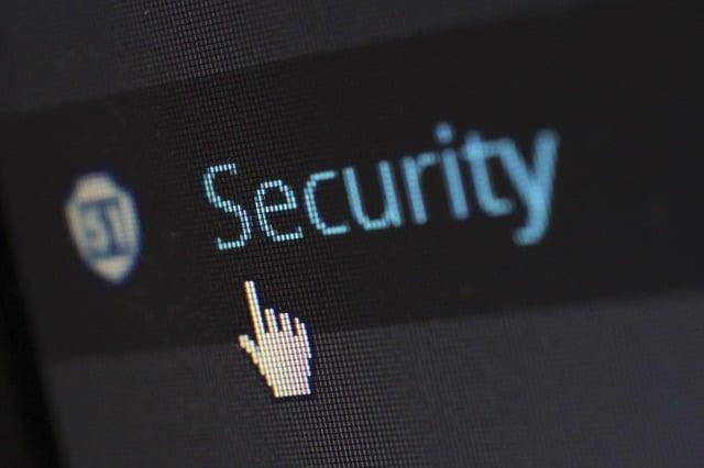 imagem com a palavra security