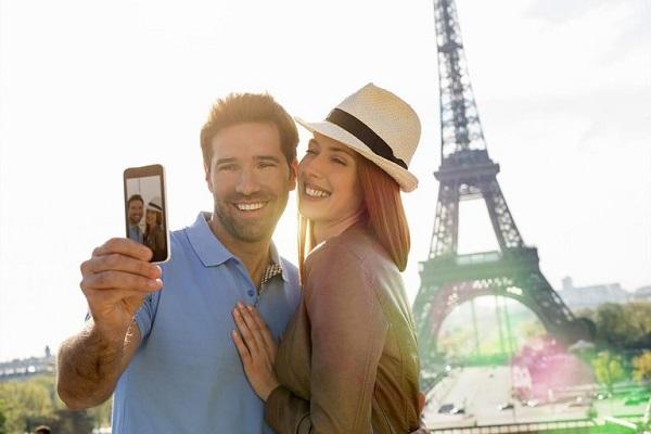 usar celular no exterior