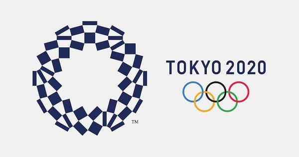 Logo das olimpíadas de Tokyo 2020