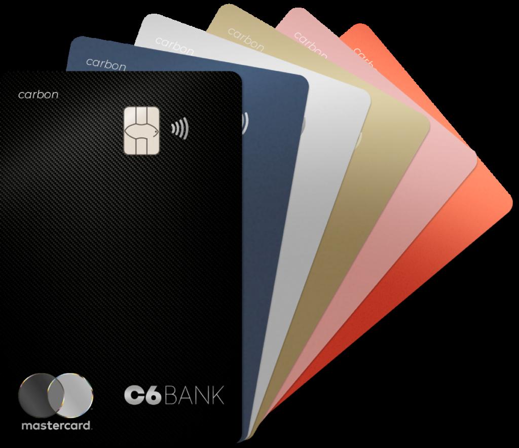 Cartões de crédito do C6 Bank