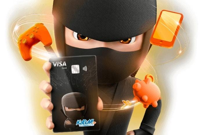 Cartão ninja da KaBuM