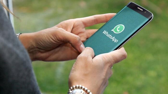 pessoa segurando um celular