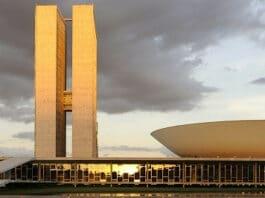 Fachada do Congresso nacional em Brasília