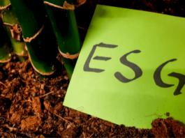 Post it com a sigla ESG
