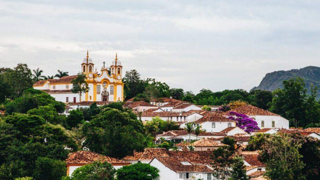 imagem da cidade de Tiradentes em Minas Gerais