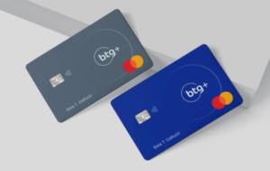 dois cartões do banco BTG+