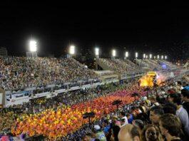 Imagem do Sambódromo, onde será realizado o desfile do Carnaval 2022 do Rio de Janeiro